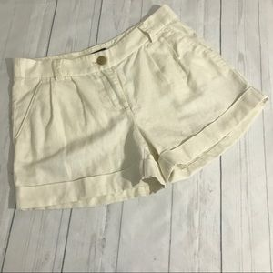 J. Crew Factory Cuffed Shorts Size 2
